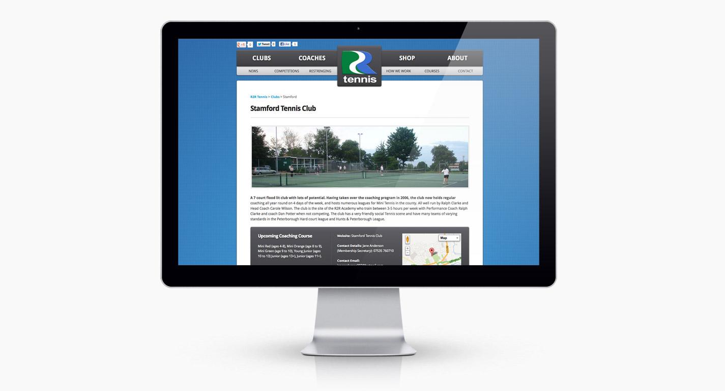R2R Tennis's Club Page